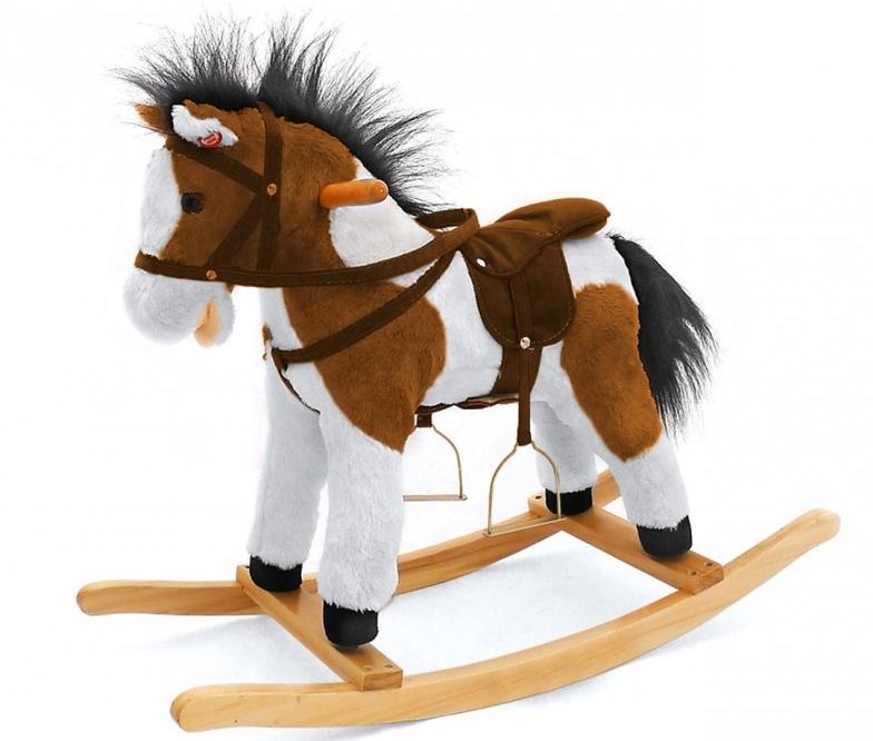 Koń na biegunach maludas
